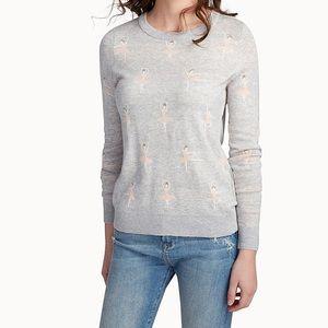 Maison Simons Twik ballerina print sweater